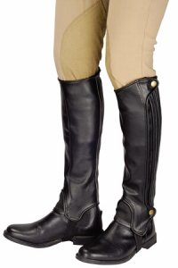 TUFFRIDER GRIPPY GRAIN HALF CHAPS ADULTS - TALL