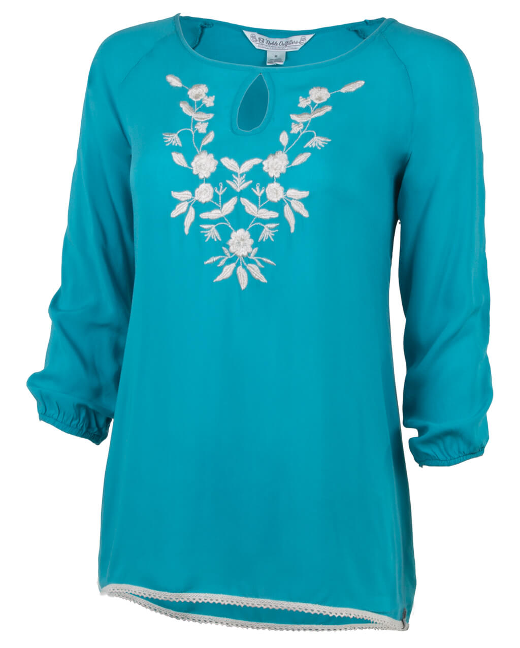 Noble Outfitters Joleen Peasant Top