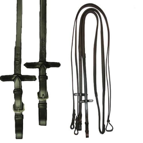 "ThinLine Reins 60"" Black Buckle 2213-BBE"