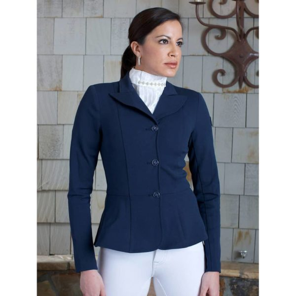 2kGrey Ladies Show Riding Jacket | Frances Navy Navy Female 4