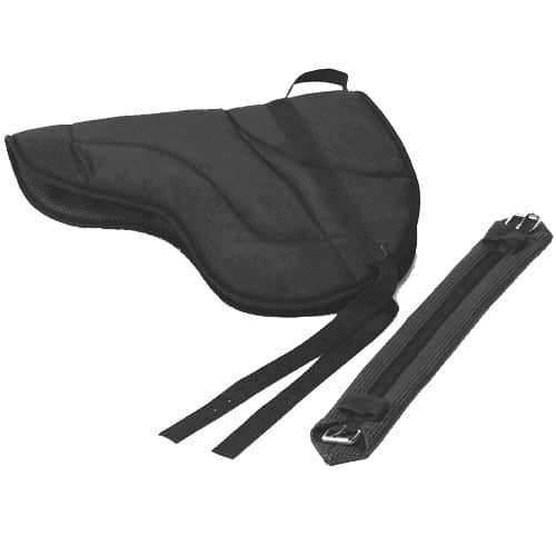 Best Friend English Style Bareback Pad-Horse Size Black