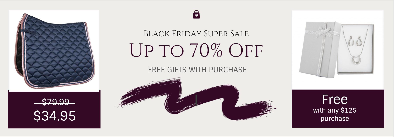 Black Friday Tack Sale