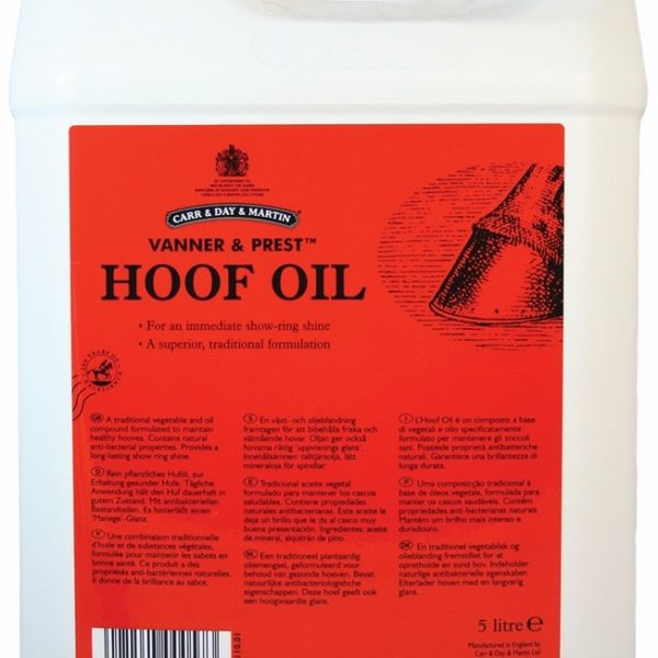 Carr and Day and Martin Horse Vanner and Prest Hoof Oil