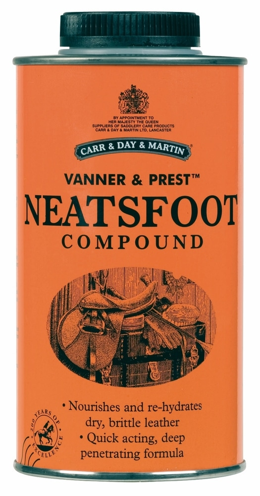 Carr and Day and Martin Horse Vanner and Prest Neatsfoot Oil