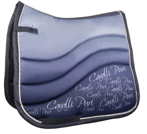 Cavalli Puri Fade Saddle Pad Blue 2