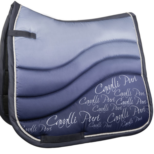 Cavalli Puri Fade Saddle Pad Blue 2