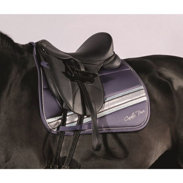 Cavalli Puri Saddle Pad Melody Stripe