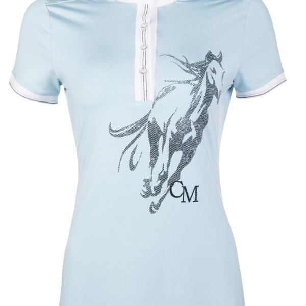 Cavallino Marino Competition shirt -Rimini Horse Print-