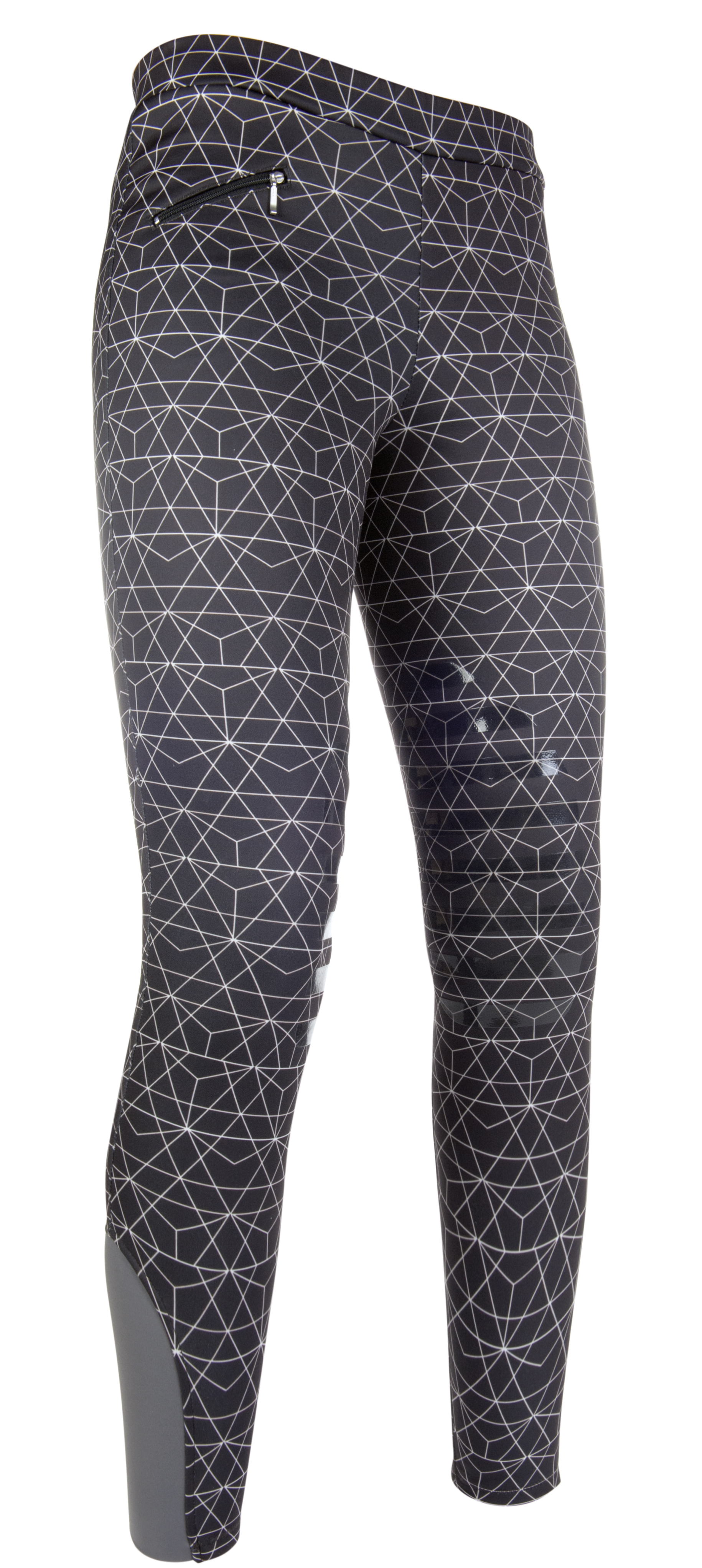 Cavallino marino riding leggings piemont silicone knee patch.