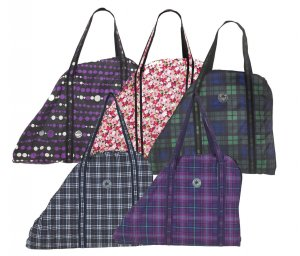 Centaur® Saddle Bag Carrier Classic Plaid Fashion
