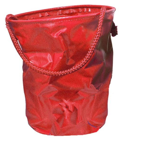 Collapsible Water Bucket Red