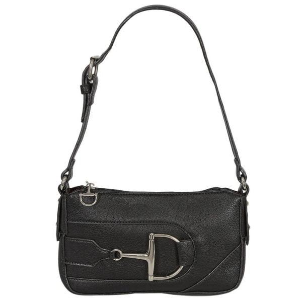 Dee Snaffle Bit Shoulder Bag Black