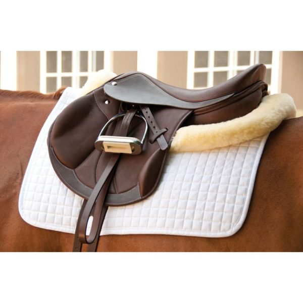 """Dynamic Jump Saddle with Mono Flap Brown 16"""""""
