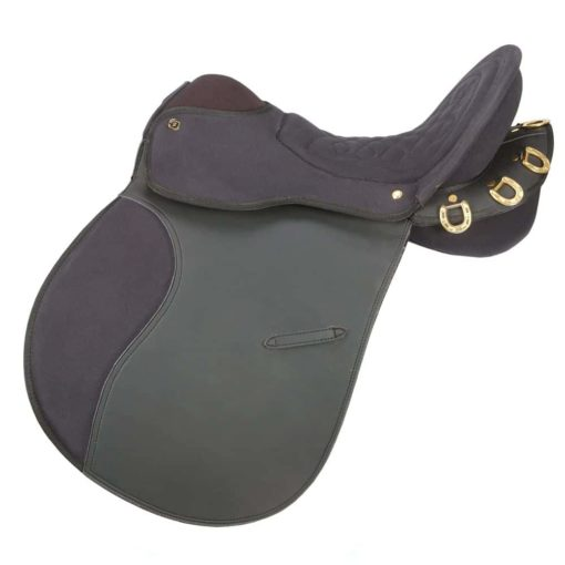 Eclipse by Tough 1 Pro Am Trail Saddle without Horn 6 Piece Package