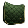 Equestrian Stockholm Dressage Saddle Pad Forest Green