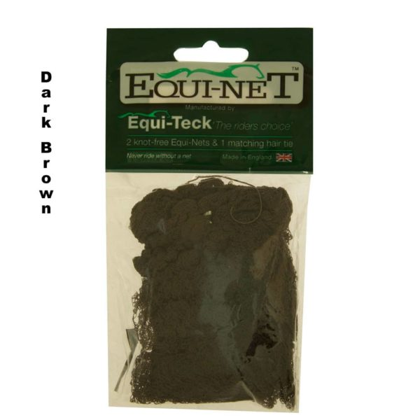 Equi-Net Pain Free Hair Net 2-pk Dark Brown
