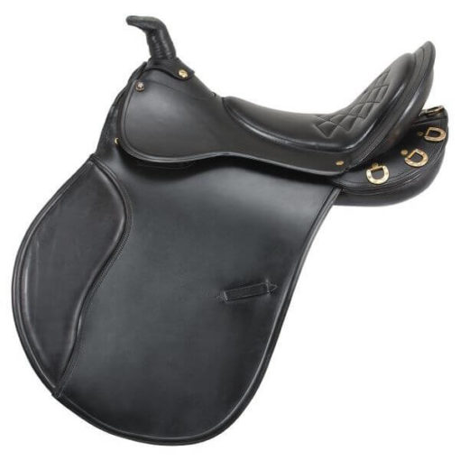EquiRoyal Comfort Trail Saddle w/ Horn