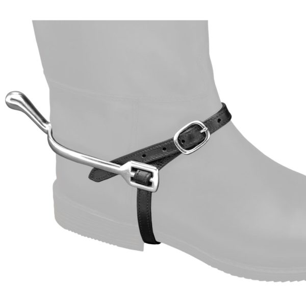 EquiRoyal Leather Spur Straps