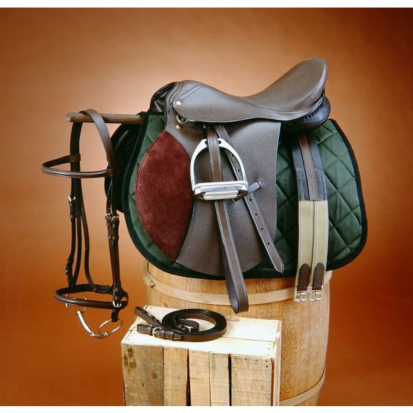 EquiRoyal Regency All Purpose Saddle Package Wide Tree