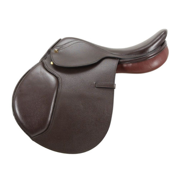 EquiRoyal Regency Close Contact Saddle Padded Flap WideTree