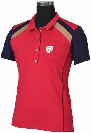 Equine Couture Carrington Polo Shirt Berry