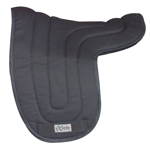Exselle Dressage Pad Black