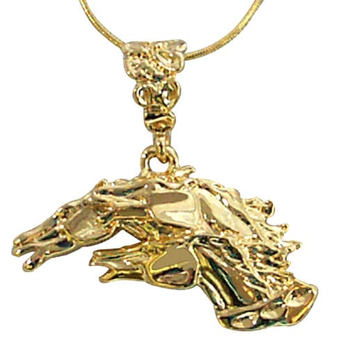 Exselle Drinkers of the Wind Pendant Gold Plate
