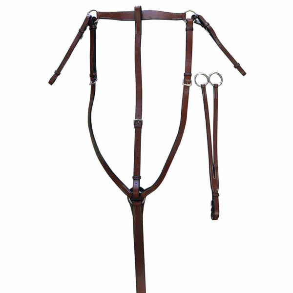 Exselle Elite Traditional Flat Hunt Breastplate Cob