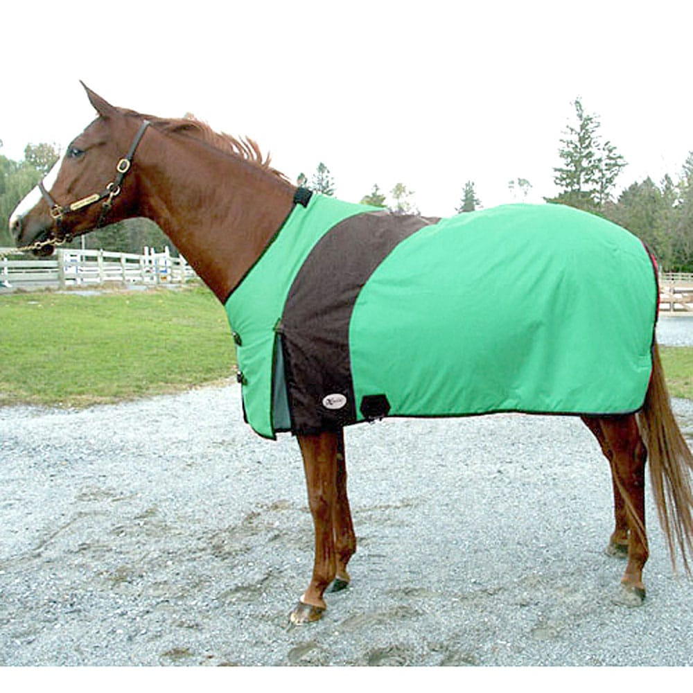 Exselle Prima Blanket-Emerald With Black Larger Sizes Teal