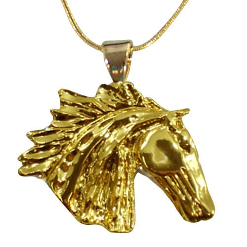 Exselle Wind Blown Pendant Gold Plate