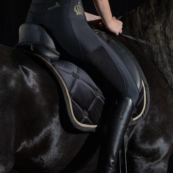 Glööckler Riding Leggings Mesh Pompöös Silicone Full Seat
