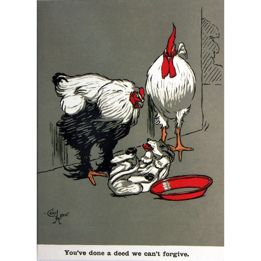 Cards forgiveness chicken 6 pack greeting cards forgiveness chicken 6 pack kristyandbryce Gallery