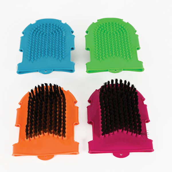 Grooming Brush And Glove