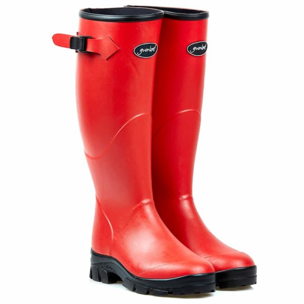 Gumleaf Norse Welly Boot | Red Red Female 6