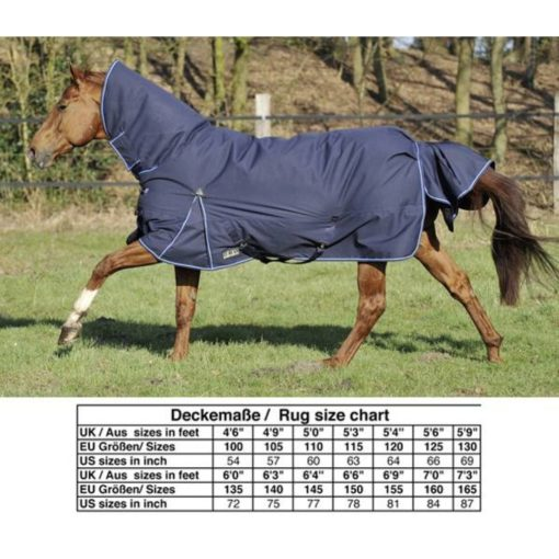 HKM Paddock Blanket Champion Combo Winter Blue