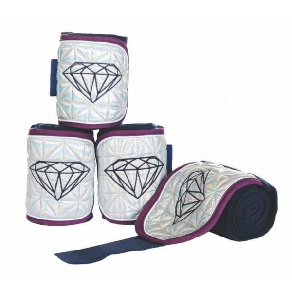 HKM Polo Wraps Diamonds Shine