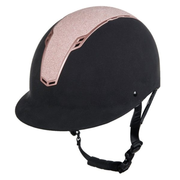 HKM Sparkle Riding Helmet Rose Gold