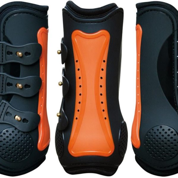 Harrys Horse Elite R Air Protection Boots Orange