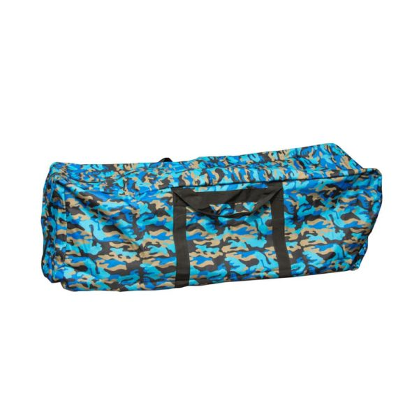 Hay Bale Storage Bag 3 Wire Blue Camo