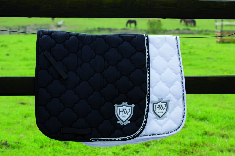 Rambo Diamante Saddle Pad Dressage
