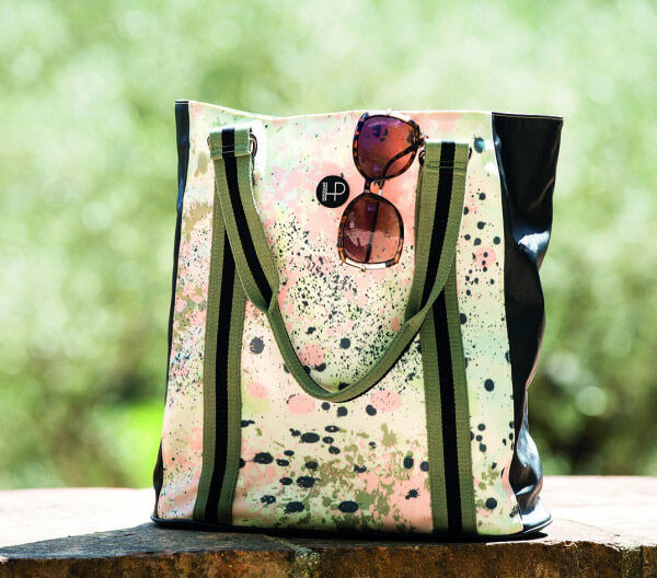 Horseware Abstract Tote Bag