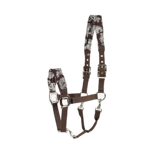 Horze Crescendo Easton Grooming Halter Dark Brown 2