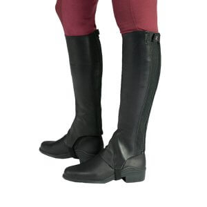Horze Franci Soft Leather Half Chaps