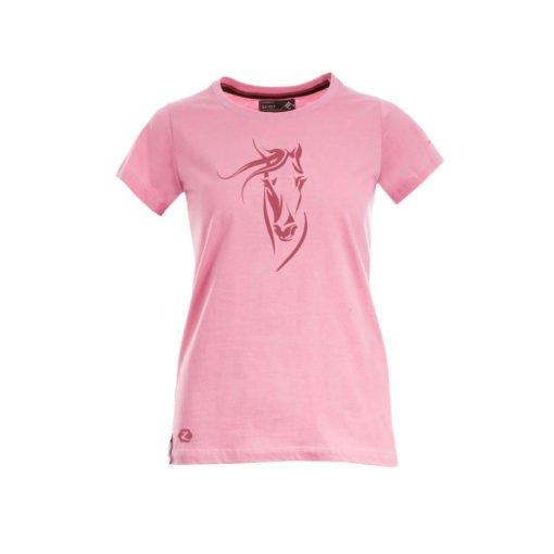 Horze Helen Women's T-shirt Pink