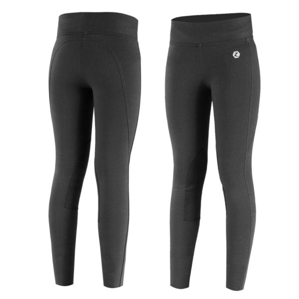 Horze Junior Knee-Patch Active Tights BL