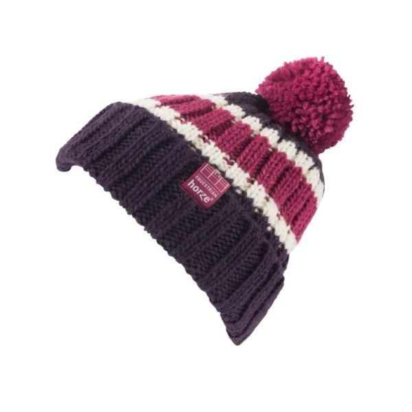 Horze Striped Knitted Hat MPUBDPU
