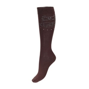 Horze Crescendo Socks Chocolate