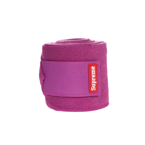 Horze Supreme Polo Wraps Embrace Fleece Bandages Orchid