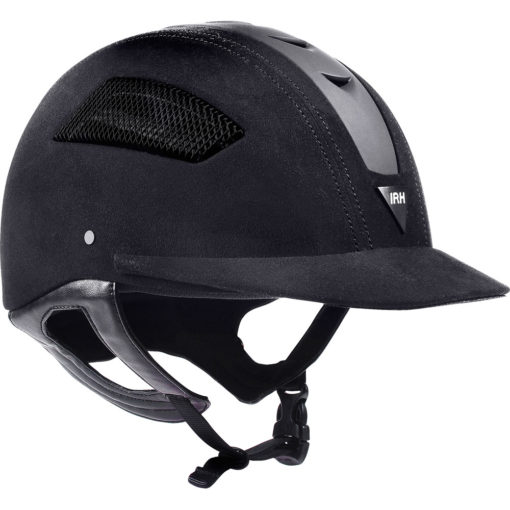 IRH Elite EQ Riding Helmet Black Unisex 7 1/8