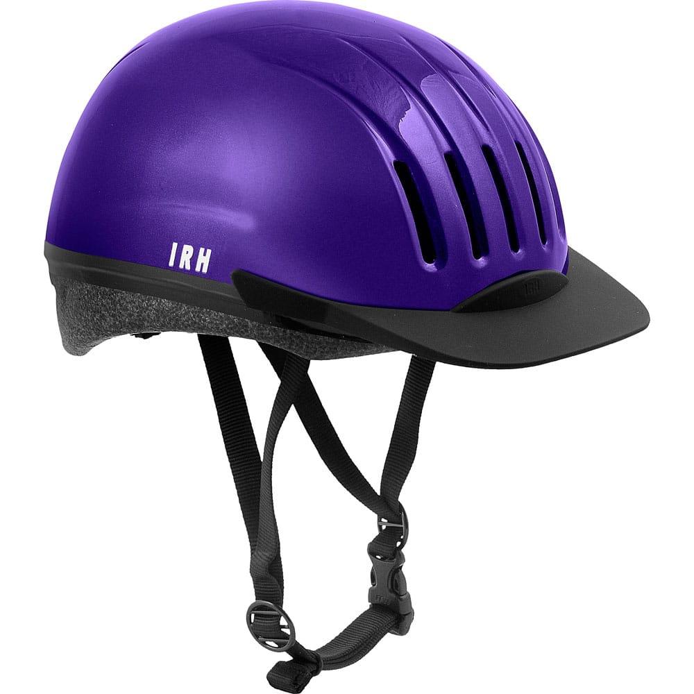 EQUI-LITE Dial Fit System PURPLE Equestrian IRH Certified Riding Helmet